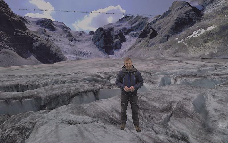 Esplorare il mondo dei ghiacciai e dell'acqua