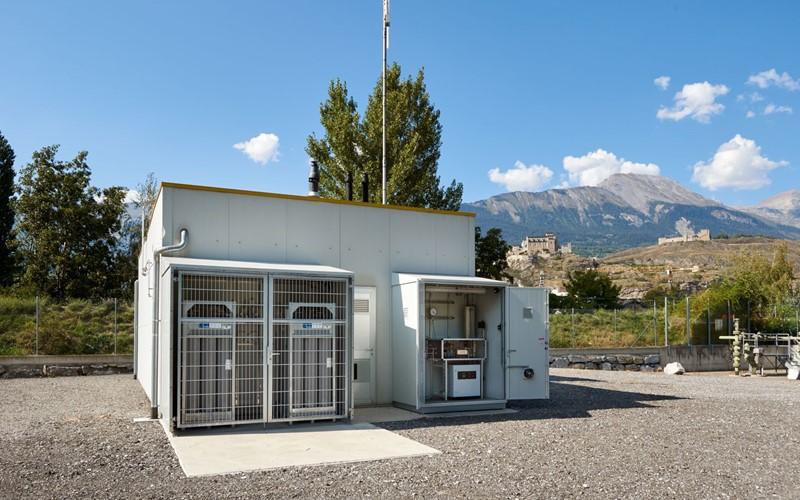 Inauguration d'un premier réacteur  de méthanation au sein d'un PDC