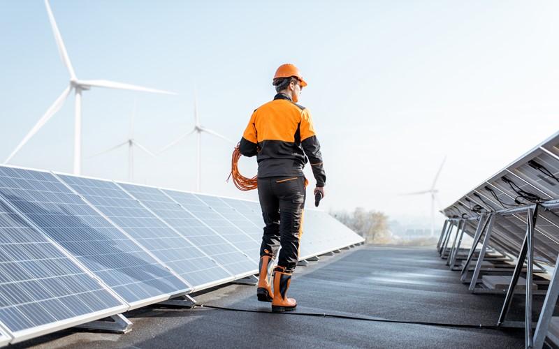 Forte croissance des énergies renouvelables