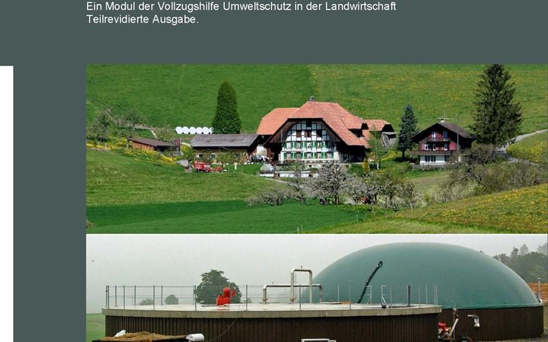 Biogasanlagen in der Landwirtschaft